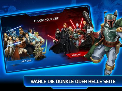 Star Wars™: Galaktische Verteidigung iOS Screenshots