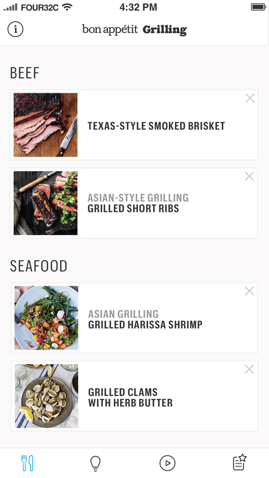 Grilling: A Bon Appétit Manual Screenshot