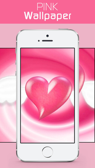Colorful pink wallpapers backgrounds cute home lock screen design themes image editor for Home design game apps for iphone