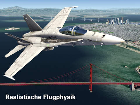 Aerofly FS 2 Flugsimulator iOS Screenshots