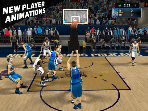 NBA 2K15 iPhone iPad