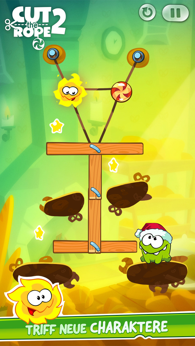 Cut the Rope 2 iOS Screenshots