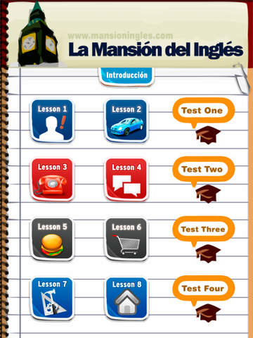Curso de Ingles en Audio 1 iMansionauto Screenshot