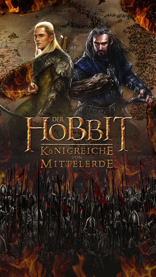 Der Hobbit: Königreiche von Mittelerde iOS Screenshots