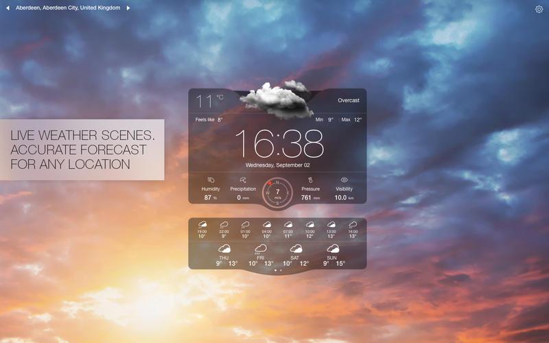 Weather Live Screenshot - 3