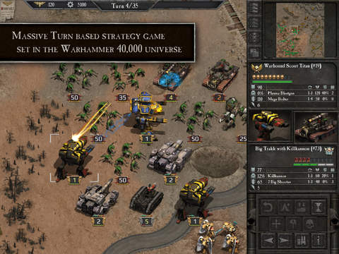 Warhammer 40,000: Armageddon iOS Screenshots