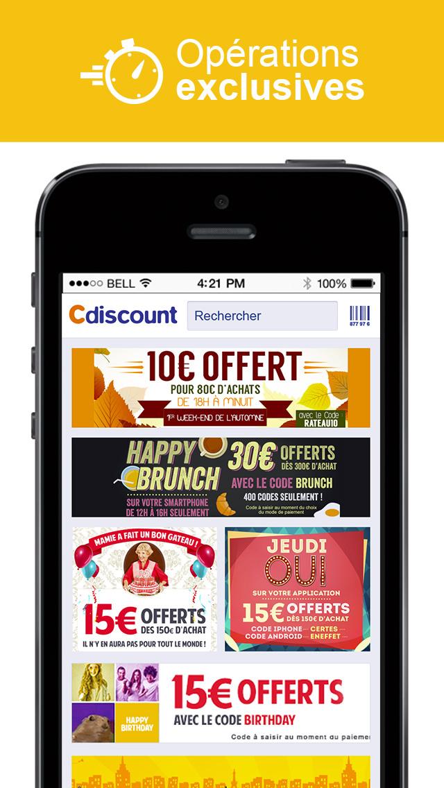 Cdiscount vos achats au prix discount faites votre shopping en ligne parmi - Prix discount electromenager ...