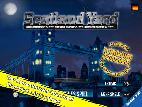 Scotland Yard iOS Screenshots