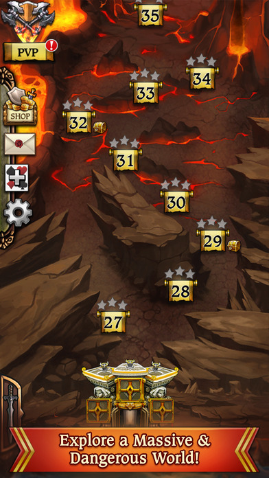 Screenshot #2 pour Swords & Poker Adventures