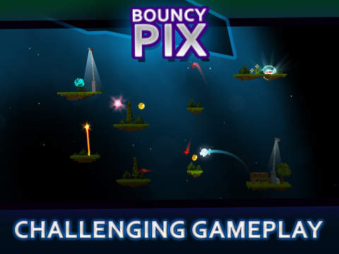 BouncyPix iOS Screenshots