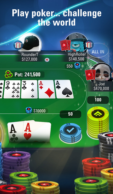pokerstars ios app