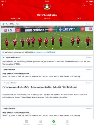 Onefootball - Fußball News & Liveticker für Bundesliga u. v. m. Screenshot