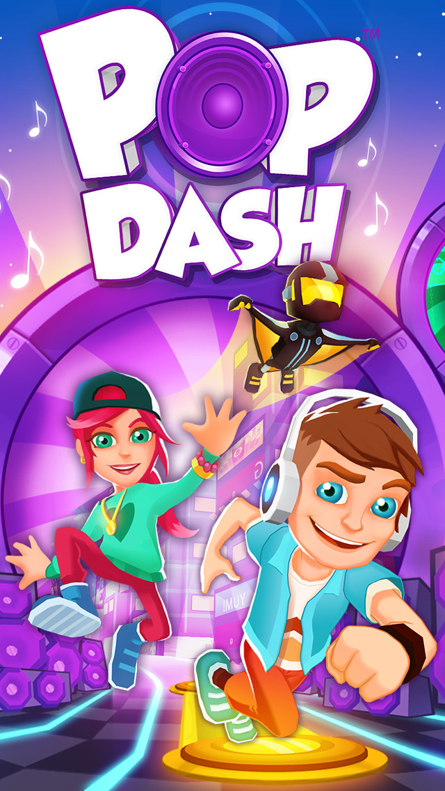 Pop Dash - Pop Culture & Music Runner iOS Screenshots