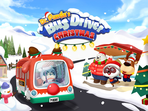 Le bus de Dr Panda - Noël