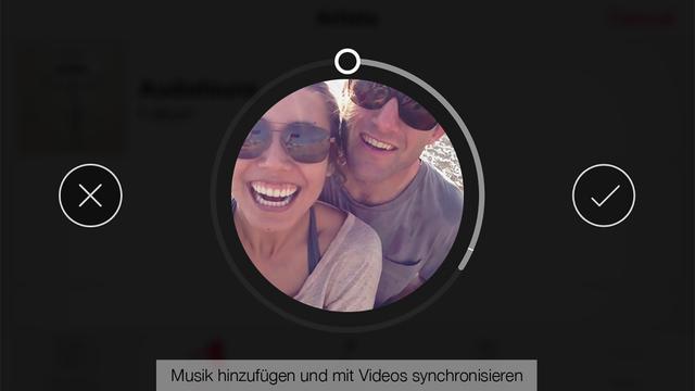 Spark Kamera – Brillante Videos aufnehmen, bearbeiten und mit anderen teilen Screenshot