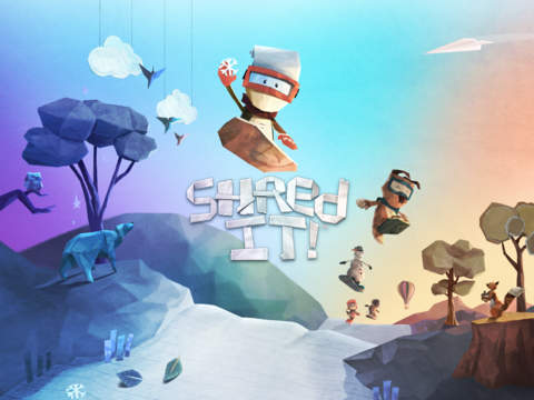 Shred It! iOS Screenshots