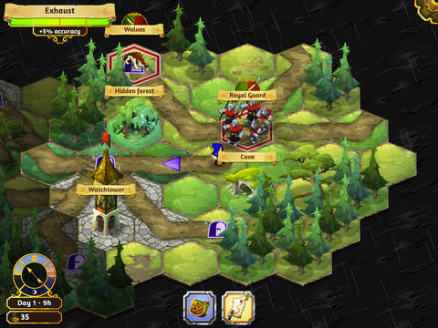 Crowntakers Strategie RPG für iOS