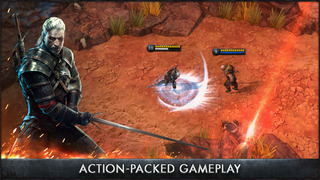 The Witcher Battle Arena iOS Screenshots
