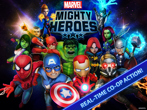 Marvel Mighty Heroes iOS Screenshots