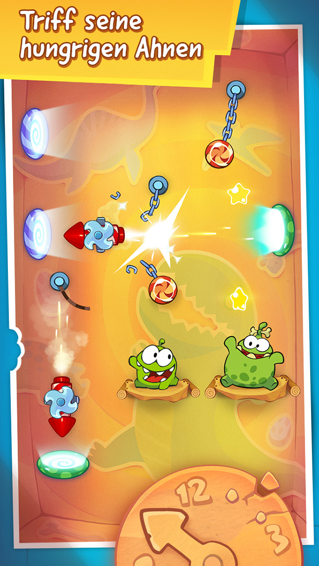 Screenshot 4 Cut the Rope: Time Travel