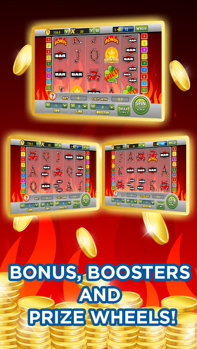 play free casino games online for free sizzing hot