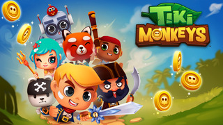 Tiki Monkeys iOS Screenshots