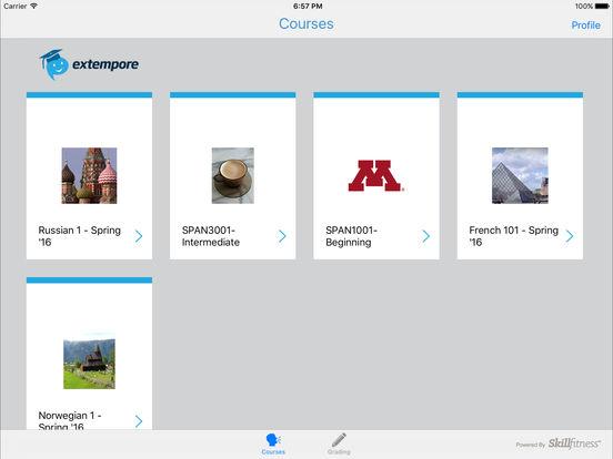 Extempore Screenshot
