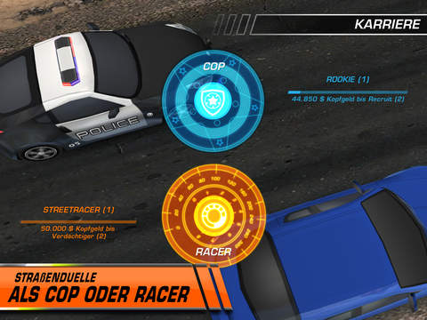 Need for Speed™ Hot Pursuit for iPad iOS Screenshots