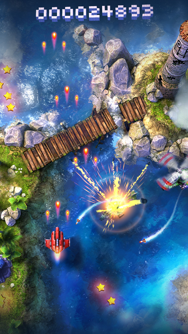 Sky Force 2014 iOS Screenshots