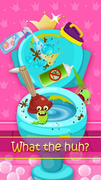 Juegos De Limpiar Baños:Princesa Baño Limpiar – Lavadero Spa en el App Store