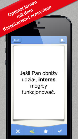 Polnisch (PL) Business - 500 Wörter + 500 Sätze