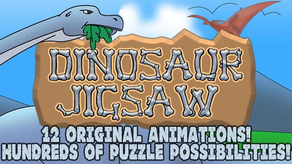 Puzzle dinosauri gratuito i animati divertono