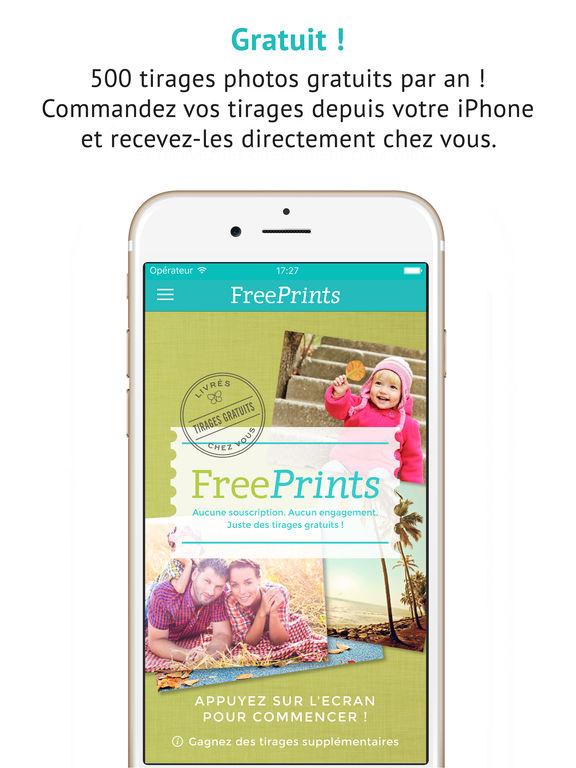 FreePrints - Photos Gratuites Capture d'écran