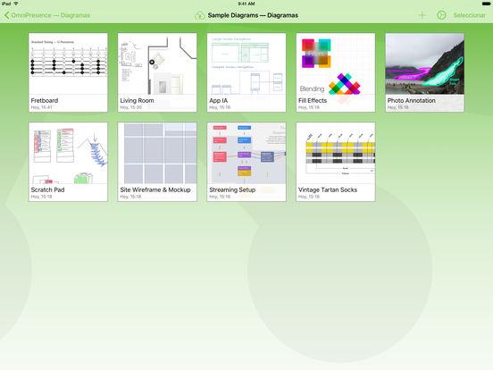 OmniGraffle 2 Screenshot