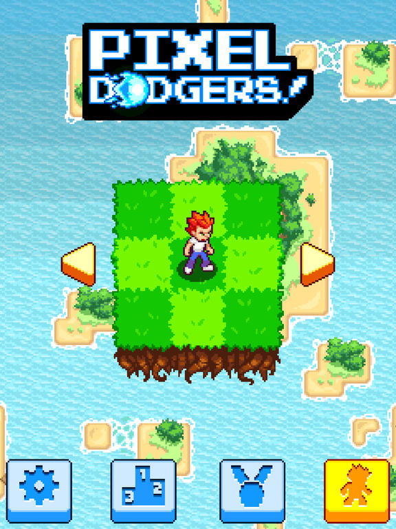 Pixel Dodgers iOS Screenshots