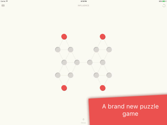 Influence - the puzzle game iOS Screenshots