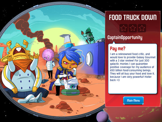 Screenshot 5 Space Food Truck