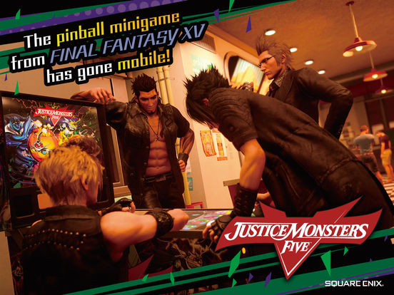 JUSTICE MONSTERS FIVE iOS Screenshots