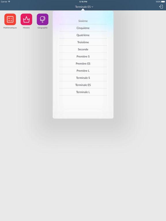 Kartable iPad