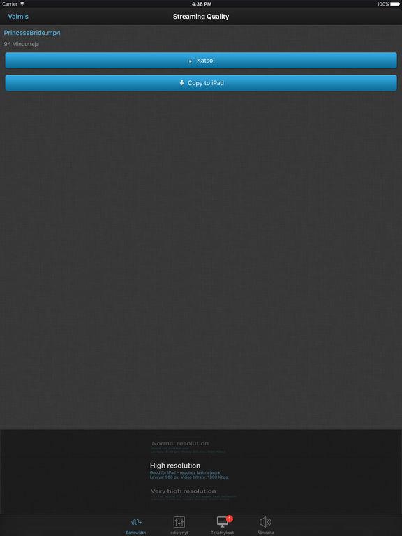 iPad-näyttökuva 4