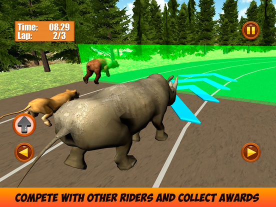 Wild Animal Racing Challenge 3D Full Screenshots