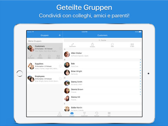 Simpler Pro - Smarter Kontaktmanager Screenshot