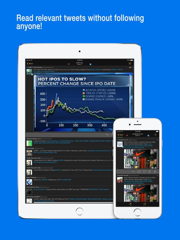 Stocks Live - Stock Market Game Changer, Portfolio & Shares Manager w/Education Center. Screenshots