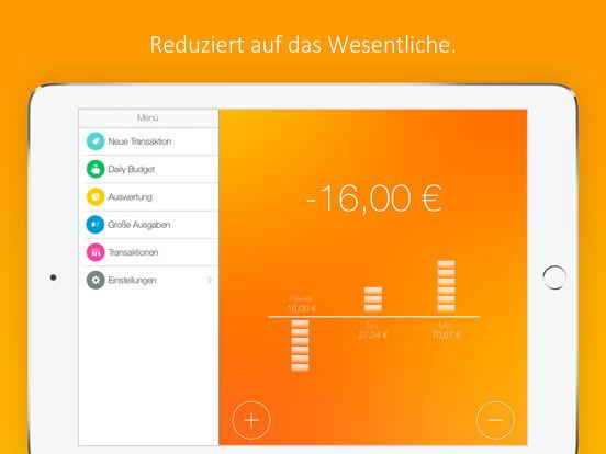 Daily Budget Original - Sparen macht Spaß! Screenshot