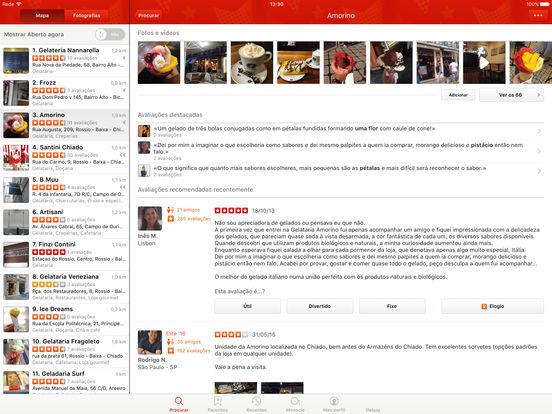 Captura de ecrã do iPad 4