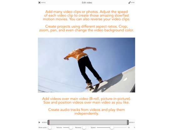 Videocraft - Best Video Editor Photo Slideshow Screenshots