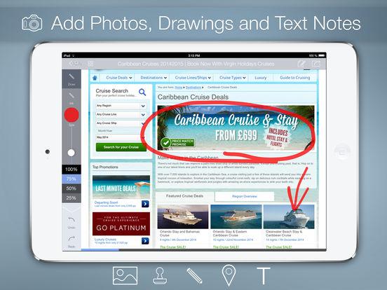 save page to pdf ipad free