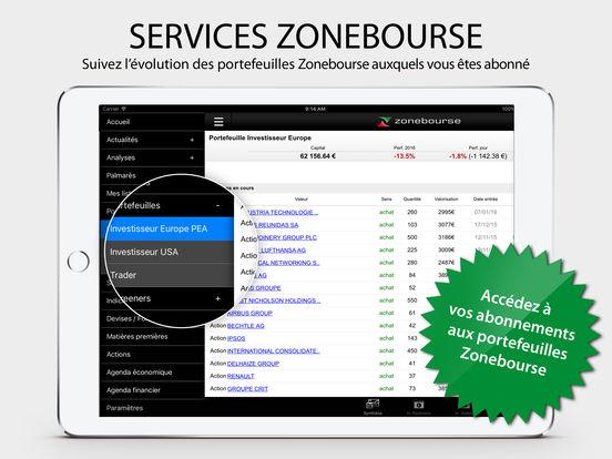 Zonebourse app: insight & download.