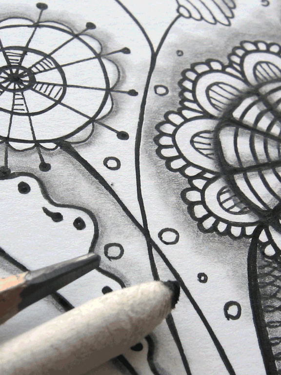 Tangle Patterns Galore - 266 Zentangle to Learn ! Screenshot