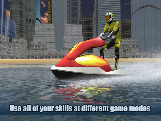 Jet Ski Boat Racing 3D Full Screenshots
